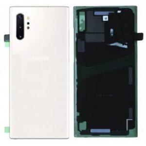 Samsung Galaxy Note 10 Plus Baksida/Batterilucka - Original - Vit