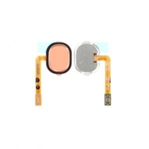 Samsung Galaxy A40 Hemknapp Med Flex – Orange
