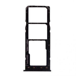 Samsung Galaxy A10 Simkortshållare - Original - Svart