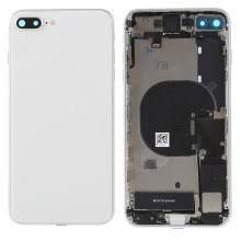iPhone 8 Plus Baksida Komplett Med Smådelar – Vit