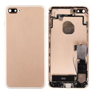iPhone 7 Plus Baksida Komplett Med Smådelar - Guld