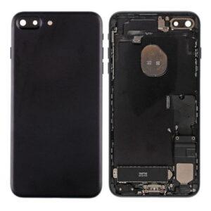iPhone 7 Plus Baksida Komplett Med Smådelar - Svart