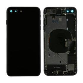 iPhone 8 Plus Baksida Komplett Med Smådelar - Svart