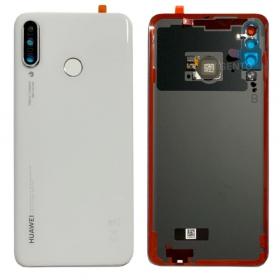 Huawei P30 Lite Batterilucka/Baksida - Pärlvit