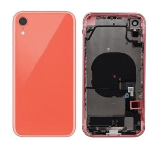 iPhone XR Baksida Komplett Med Smådelar – Coral