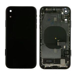 iPhone XR Baksida Komplett Med Smådelar - Svart