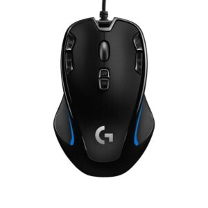 Logitech G300s Gamingmus - Svart