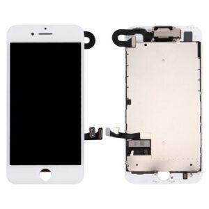 iPhone 7 Display Original Komplett med Smådelar - Vit
