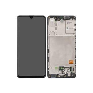 Laga din mobil själv med Samsung Galaxy A41 Skärm Med LCD Display i Svart.
