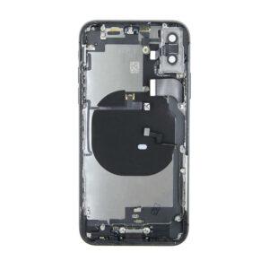 iPhone X Baksida Komplett med Smådelar - Space Grey