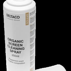 Deltaco OfficeOrganisk Rengöringsvätska för Skärmar, 250 ml